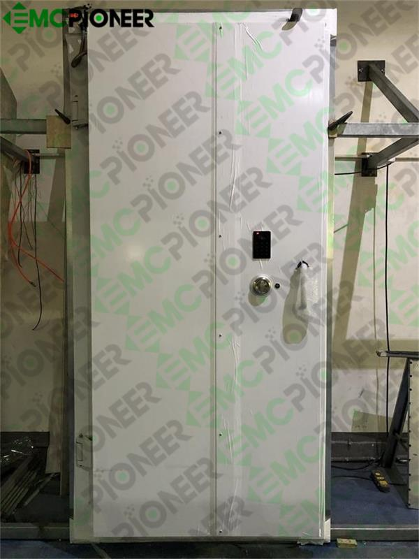 Finish production of RF Shielded Door
