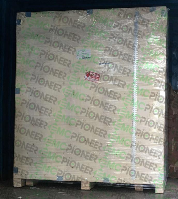 Shielding Cabinet ready to ship
